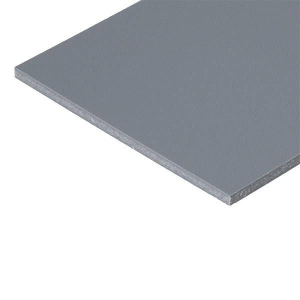 PP Leichtbauplatte, aus PP, signalgrau, 3000 x 2000 x 10 mm
