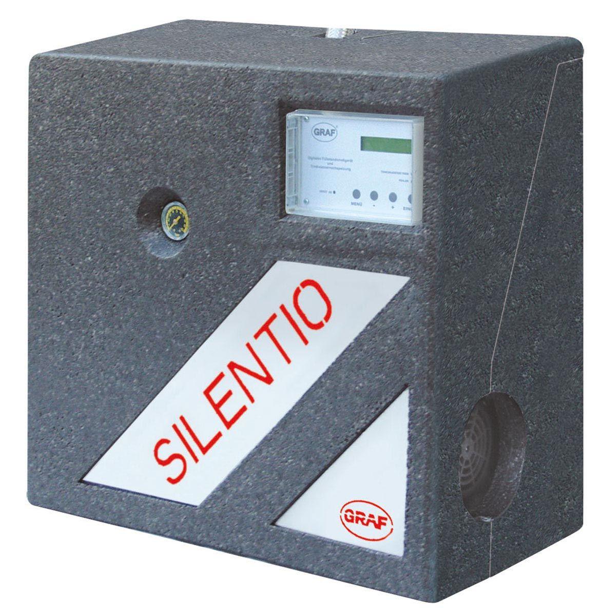 Commande centralisée du système, Aqua-Center-Silentio 15/4, 35 m, 3600 l/h, 0.66 kW