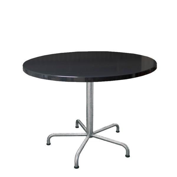GFK Tisch anthrazit D100