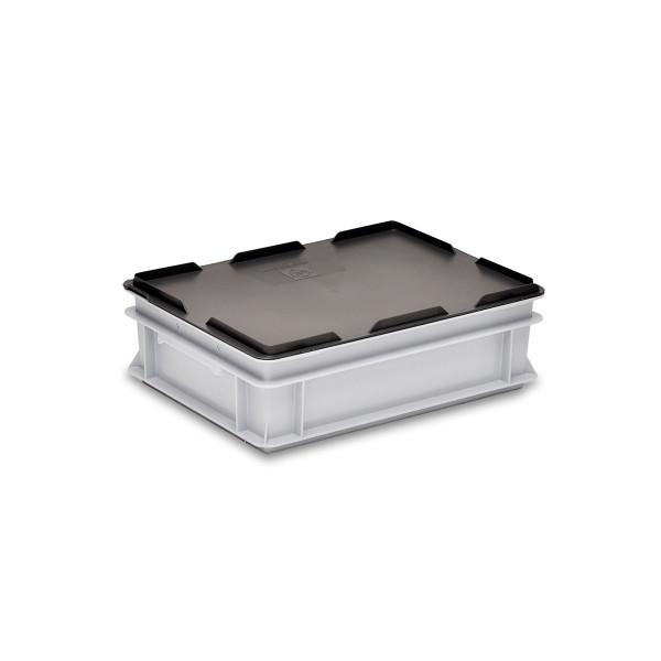 Deckel zu Rako-Behälter, schwarz, 400 x 300 mm