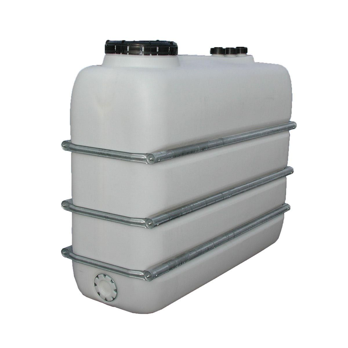 Lagertank PEDF, aus PE-HD, natur, 1100 l, 1400 x 720 x 1400 mm