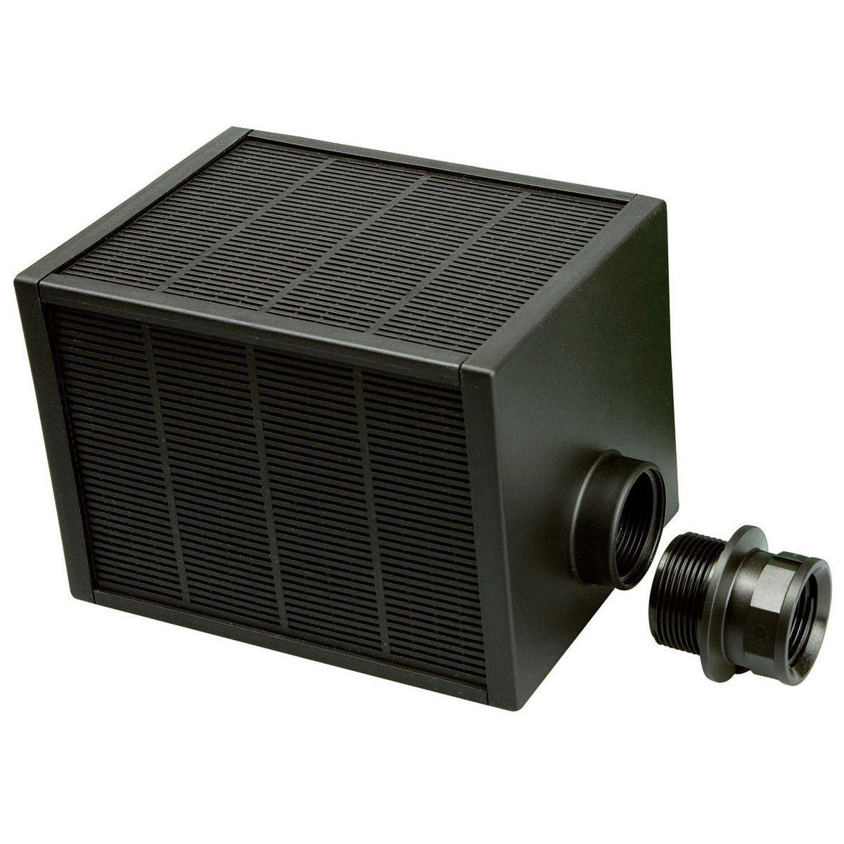 Vorfilter fein, Q 3000 - 10000 l/h, schwarz, 1' AG, 1 1/4' IG