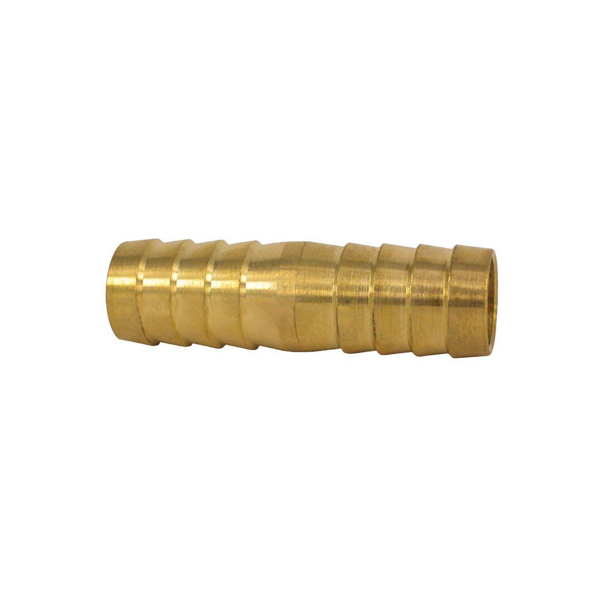 Schlauchverbindung, aus Messing, D 16 mm