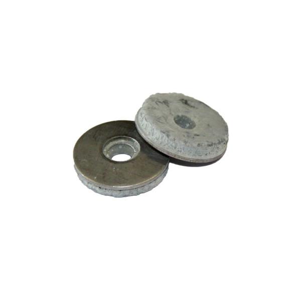 Dichtscheibe, Inox A2, Elastomer-Dichtung, 25er Pack, 4.8 x 22 mm