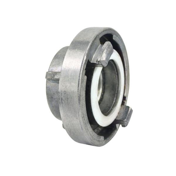 Storz Festkupplung, aus NBR und Aluminium, 1 1/4' IG, KA 66