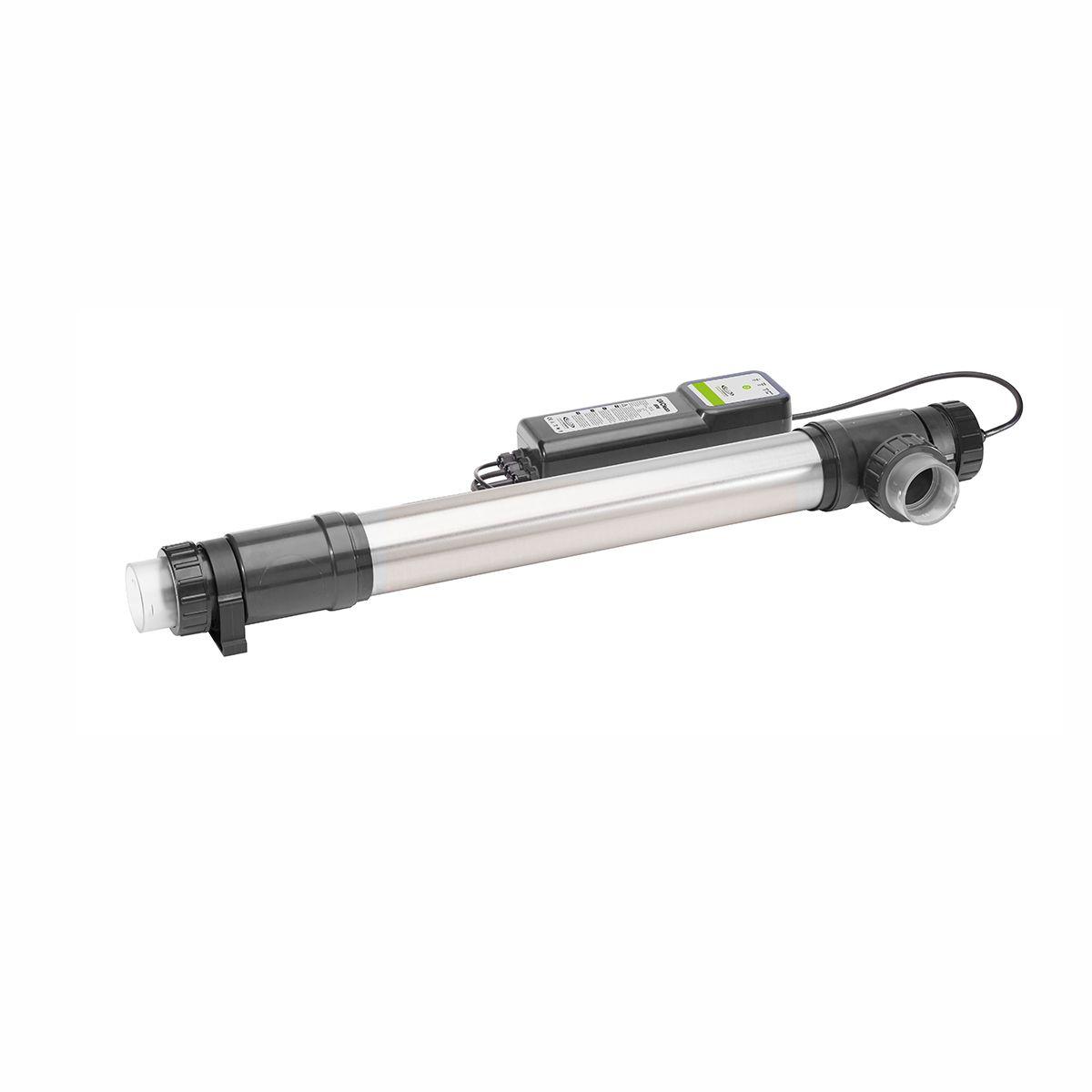 UVC-Strahler UV-Clean, schwarz, Chromstahl, 40 W, 230 V, L 102 cm, IP56