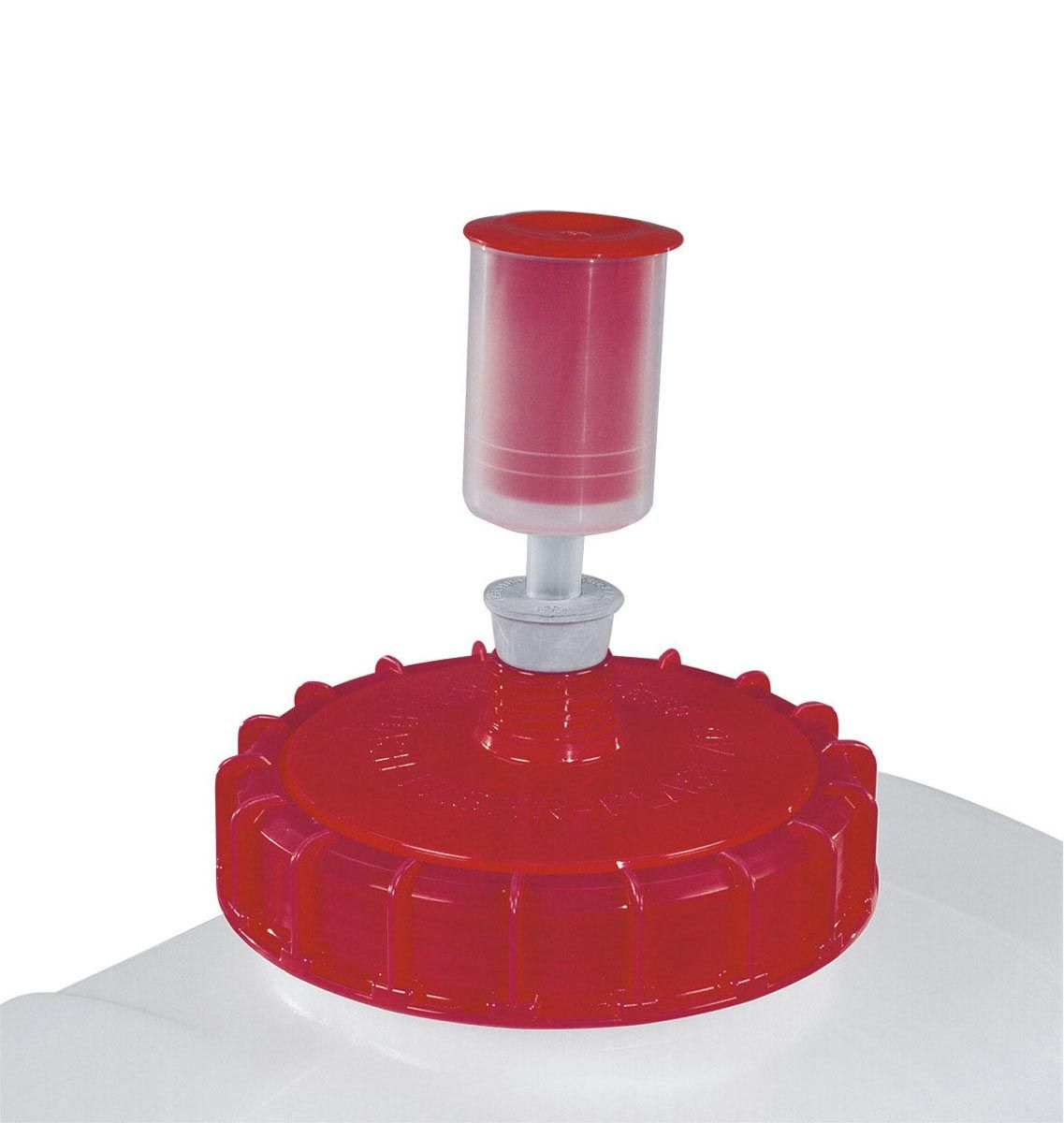 Gärfilter FA-011, rot/transparent,