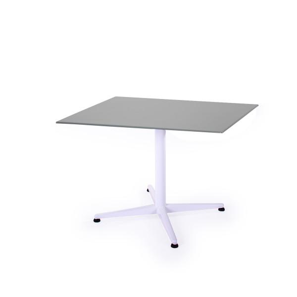 GFK Tisch Elegance platingrau 80x80