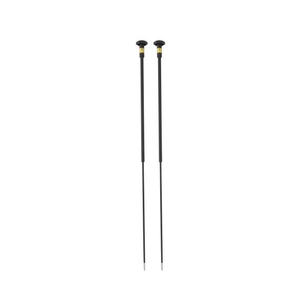Rund-Elektrodenpaar, TS 012/600, isoliert, D 4 mm, 600 mm