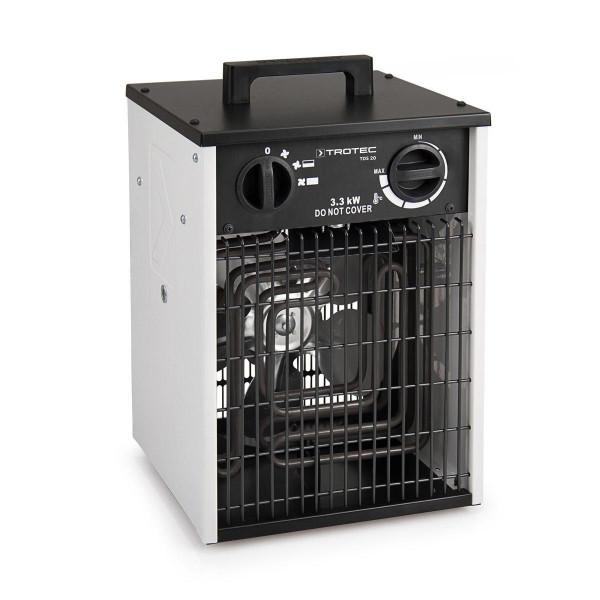 Elektroheizgebläse, TDS 20, weiss/schwarz, 230 V, 3.3 kW, 335 m3/h