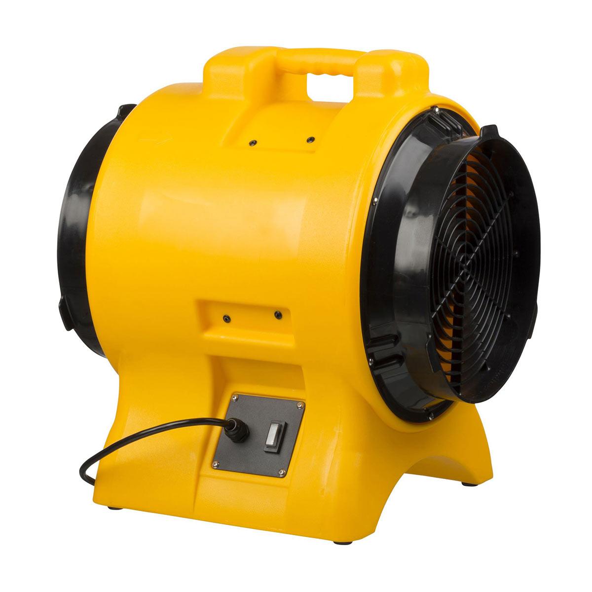 Gebläse FT BL 6800, gelb, aus Kunststoff, gelb, 3500 m3/h, 0.75 kW, D: 290 mm