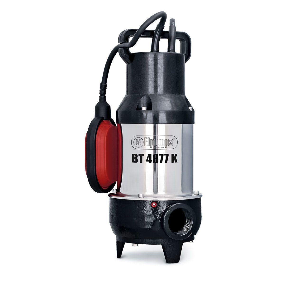 Fäkalienpumpe BT 4877 K, H max 10.0 m, Q max 20000 l/h, 0.9 kW, 220 x 190 x 450 mm, 1 1/4' IG, 230 V
