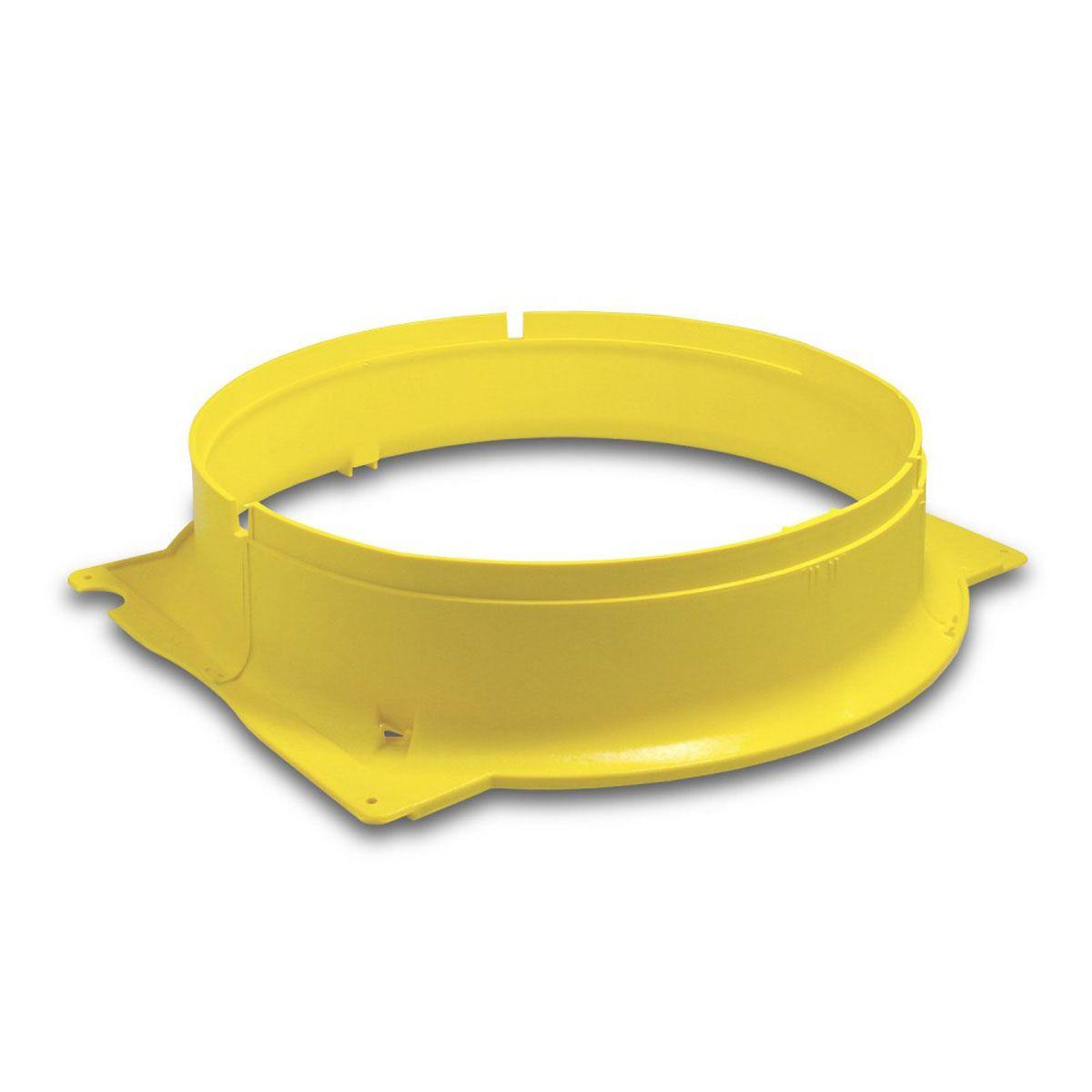 Vorsatzstück, zu TTV 7000, gelb, D 550 mm