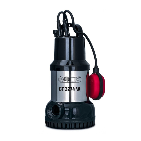 Klarwasserpumpe CT 3274 W, H max 10.0 m, Q max 10000 l/h, 0.6 kW, 160 x 190 x 325 mm, 1 1/4' IG, 230 V