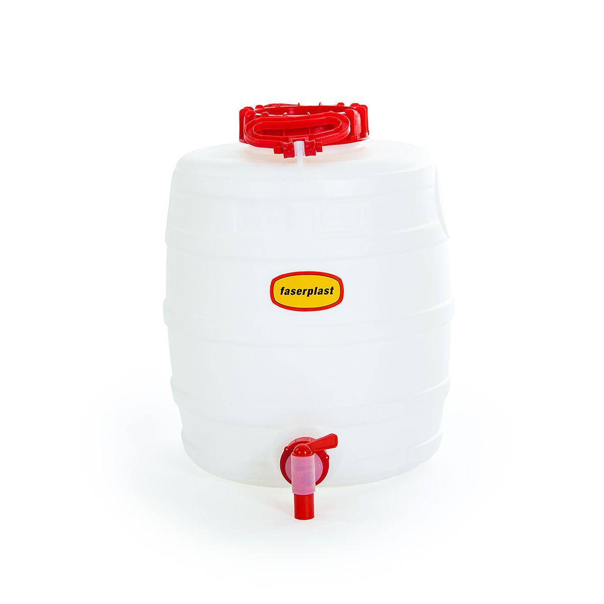 Fût à boissons FP & robinet d'écoulement