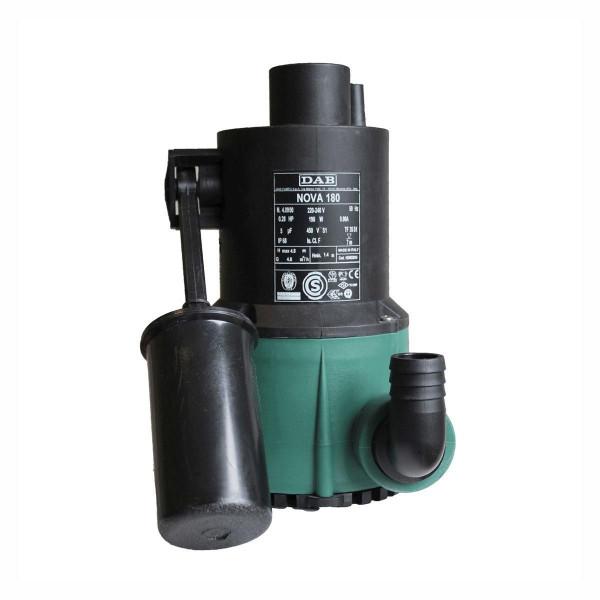 Schmutzwasserpumpe Fapa 5-5, H max 4.95 m, Q max 5000 l/h, 0.19 kW, 235 x 181 x 253 mm, 1 1/4' IG, 230 V