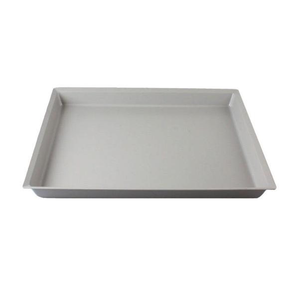 Einschiebeschale, aus PS, grau, 610 x 520 x 65 mm