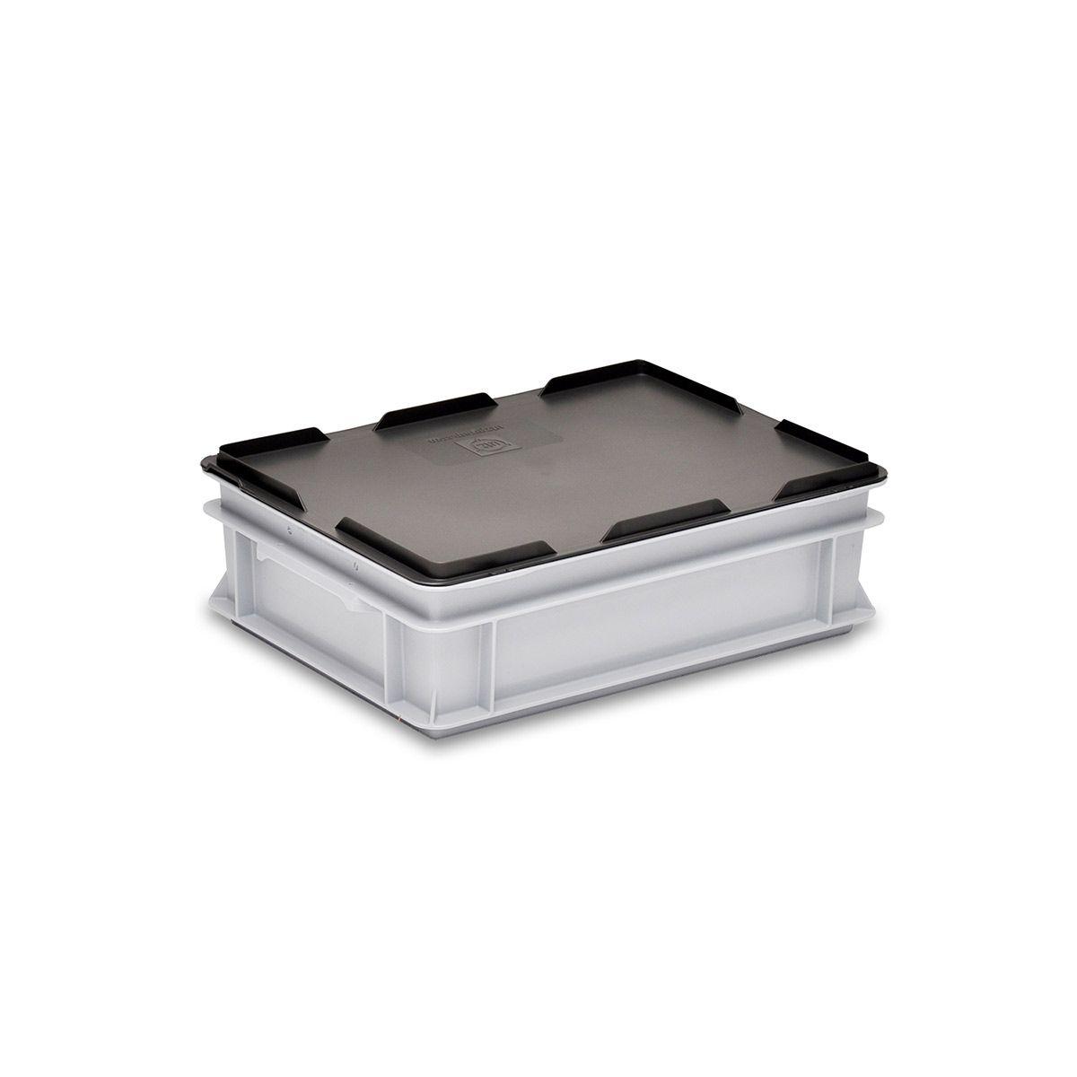 Couvercle pour bac Rako, noir, 400 x 300 mm
