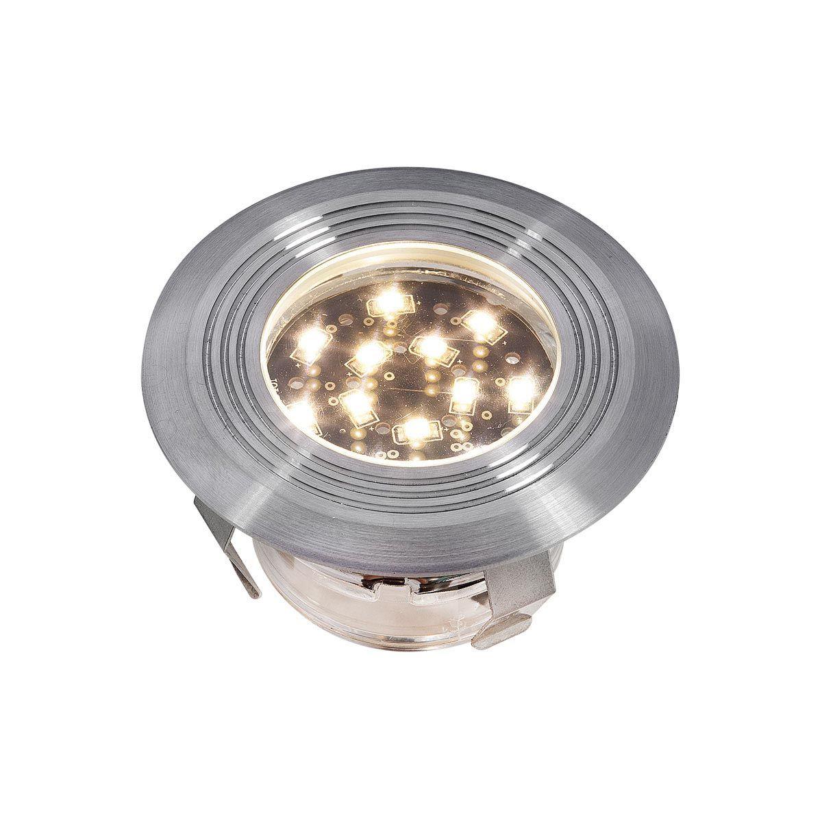 Einbauleuchte Doba R1, aus Edelstahl, 1 W LED, warm weiss, 12 V, 45 x 75 mm