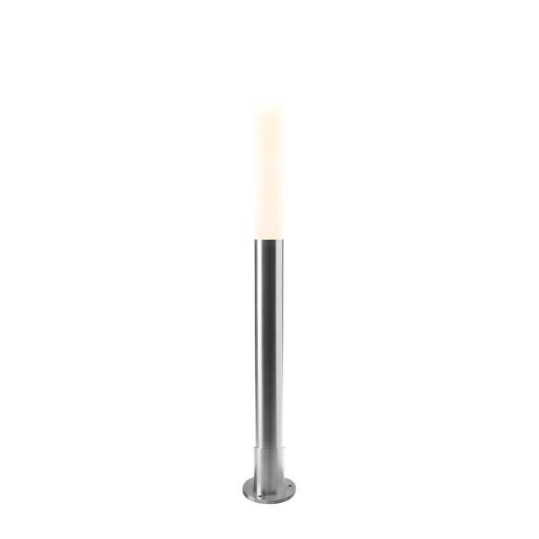 Standleuchte Nina, Edelstahl, warm weiss, 12 V, 3 W, 760 x 105 x 105 mm