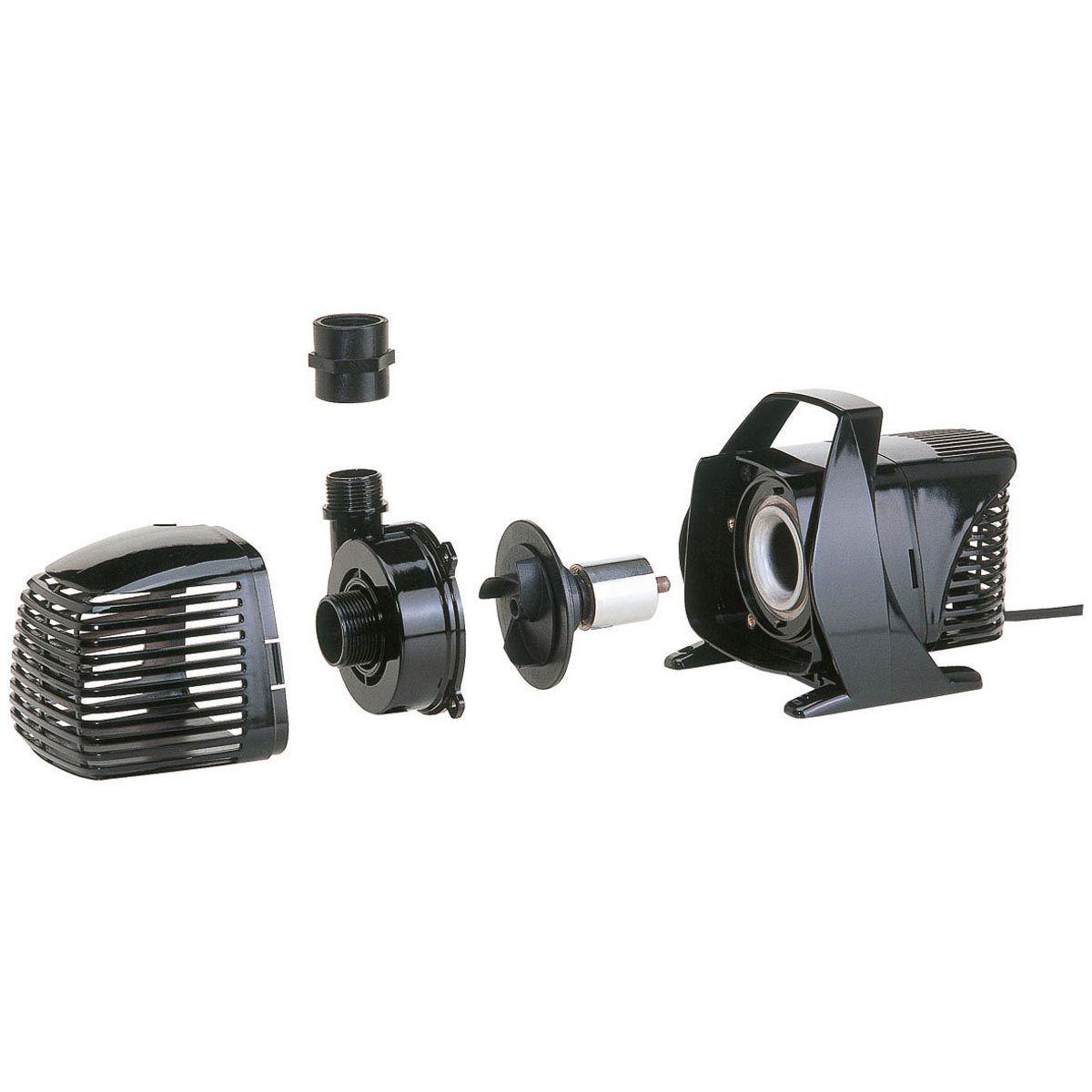 Teichpumpe MPF-3000, H max. 2.5 m, Q max. 3000 l/h, 40 Watt, 285 x 170 x 170 mm