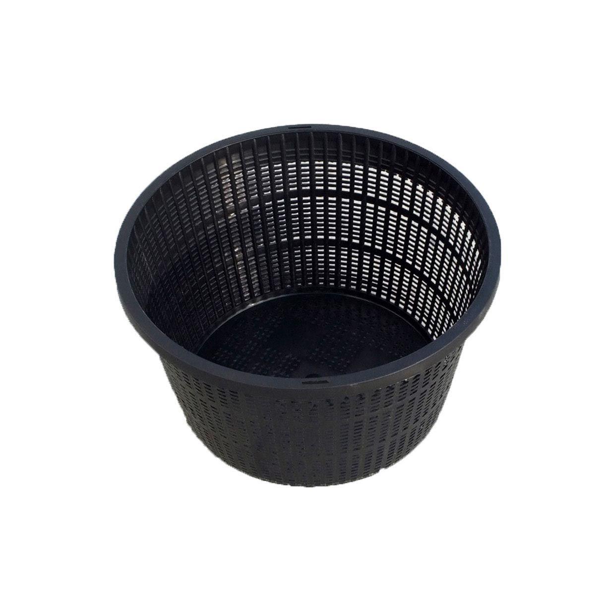 Pflanzenkorb, schwarz, D 130 x 100 mm