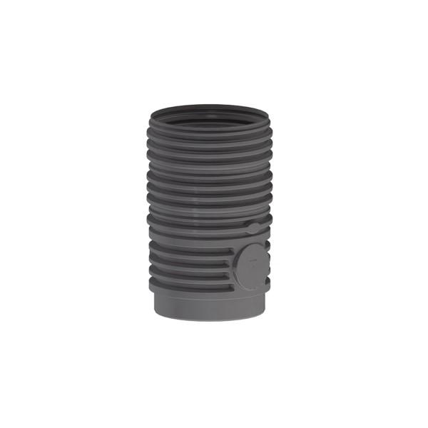 Zwischenstück mit Profildichtung, schwarz, 1000 x 600 mm