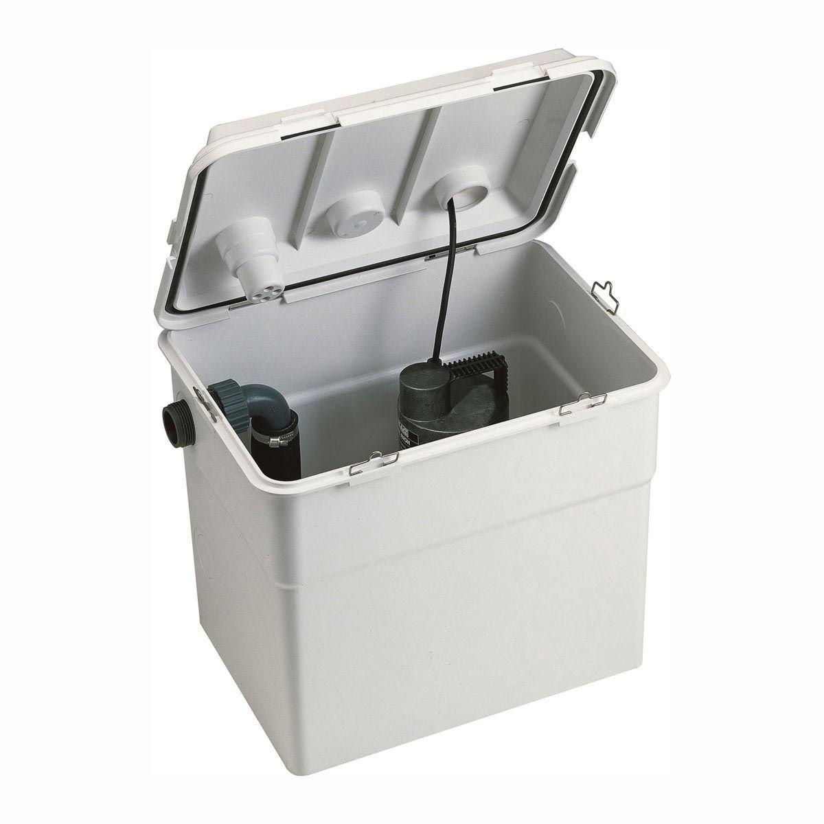 Collecteur FapaBox 7, H max. 6,90m, Qmax. 7200l/h, 0,29kW, 407 x 309 x 360 mm, 30 l, 230 V