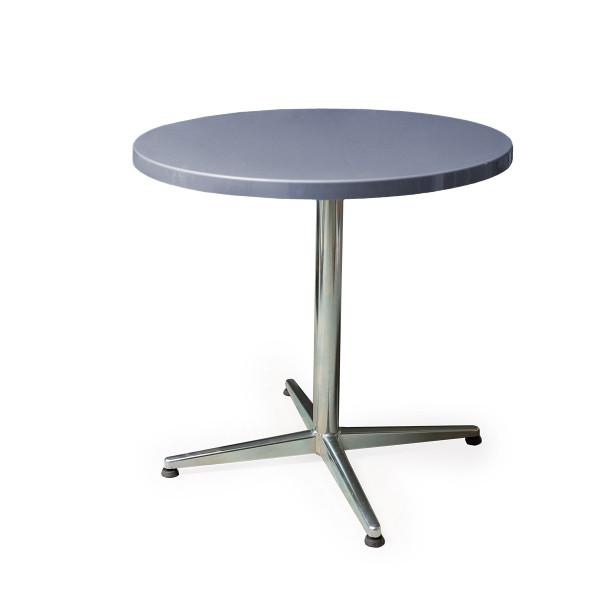 GFK Tisch fehgrau D80