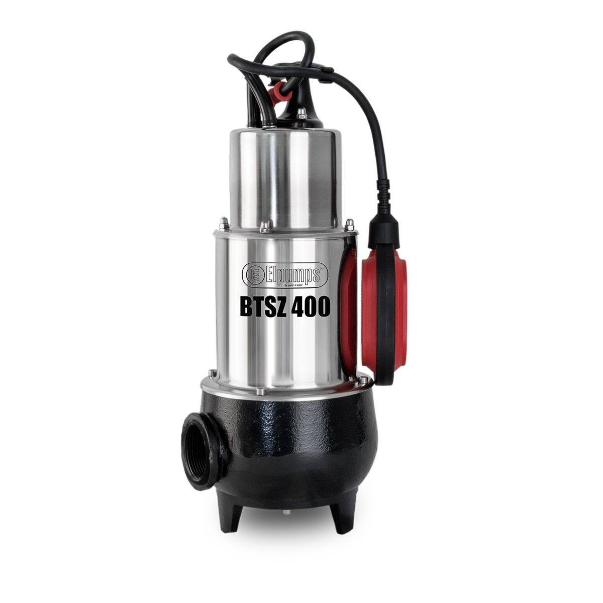 Schmutzwasserpumpe BTSZ 400, H max 10.0 m, Q max 24000 l/h, 1.2 kW, 220 x 185 x 450 mm, 1 1/2' IG, 230 V