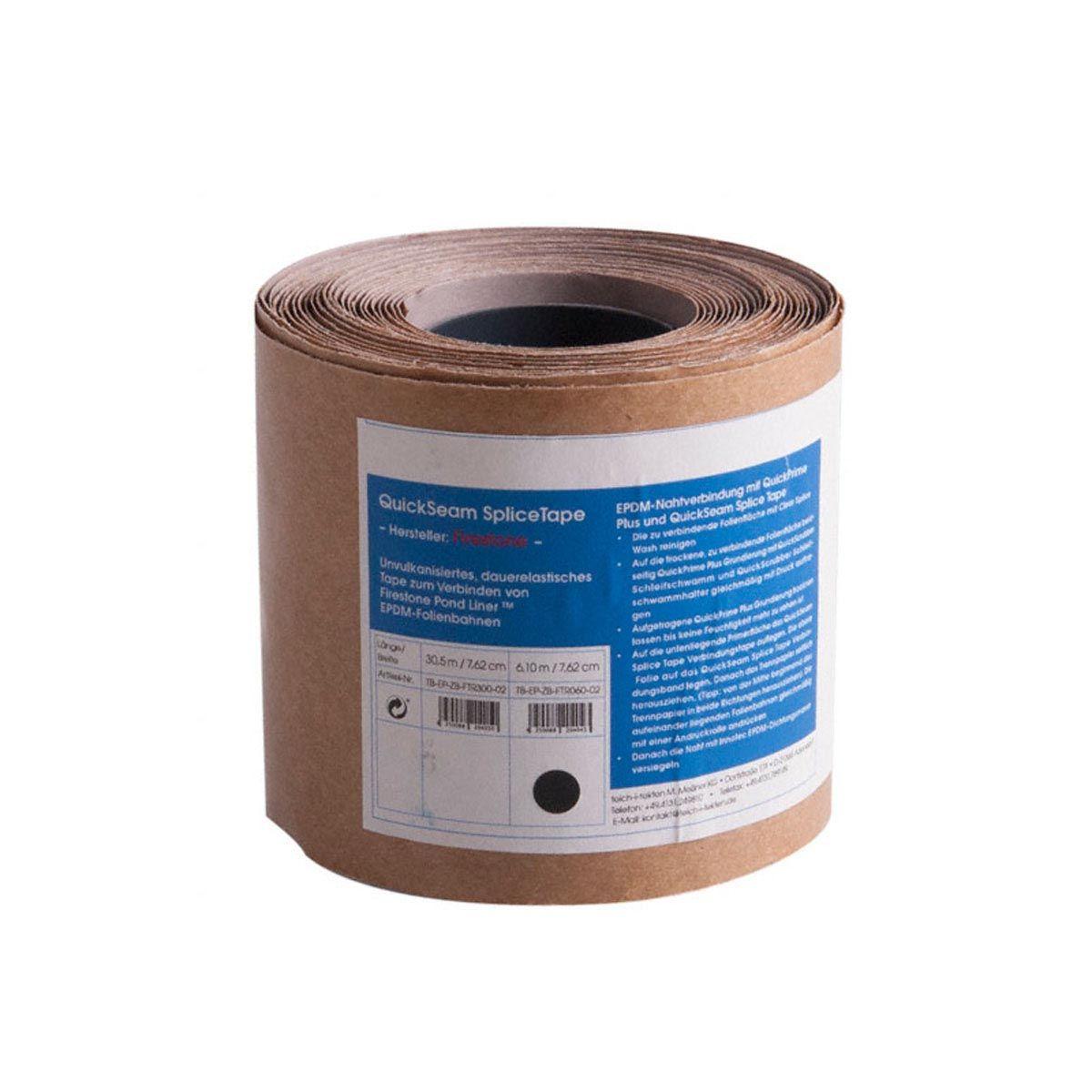 Nahtband QuickSeam Splice Tape, vulkanisierend und dauerelastisch, 7.62 x 0.076 m