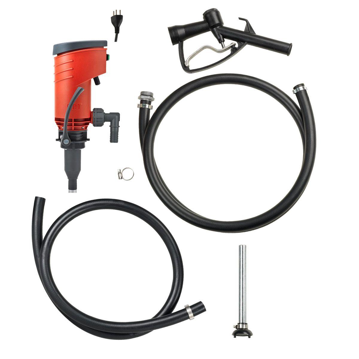 Elektro-Ölpumpe PREMAxx 52, geeignet für Diesel und Heizöl, 230 V, 320 W, 52 l/min.