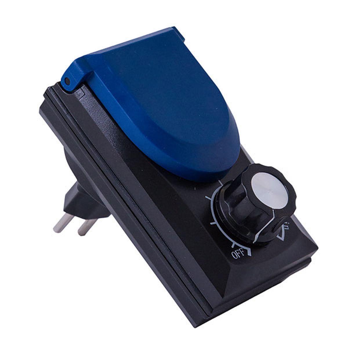 Drehzahlsteller FC-3000, schwarz/blau, 20 - 800 W, 230 V
