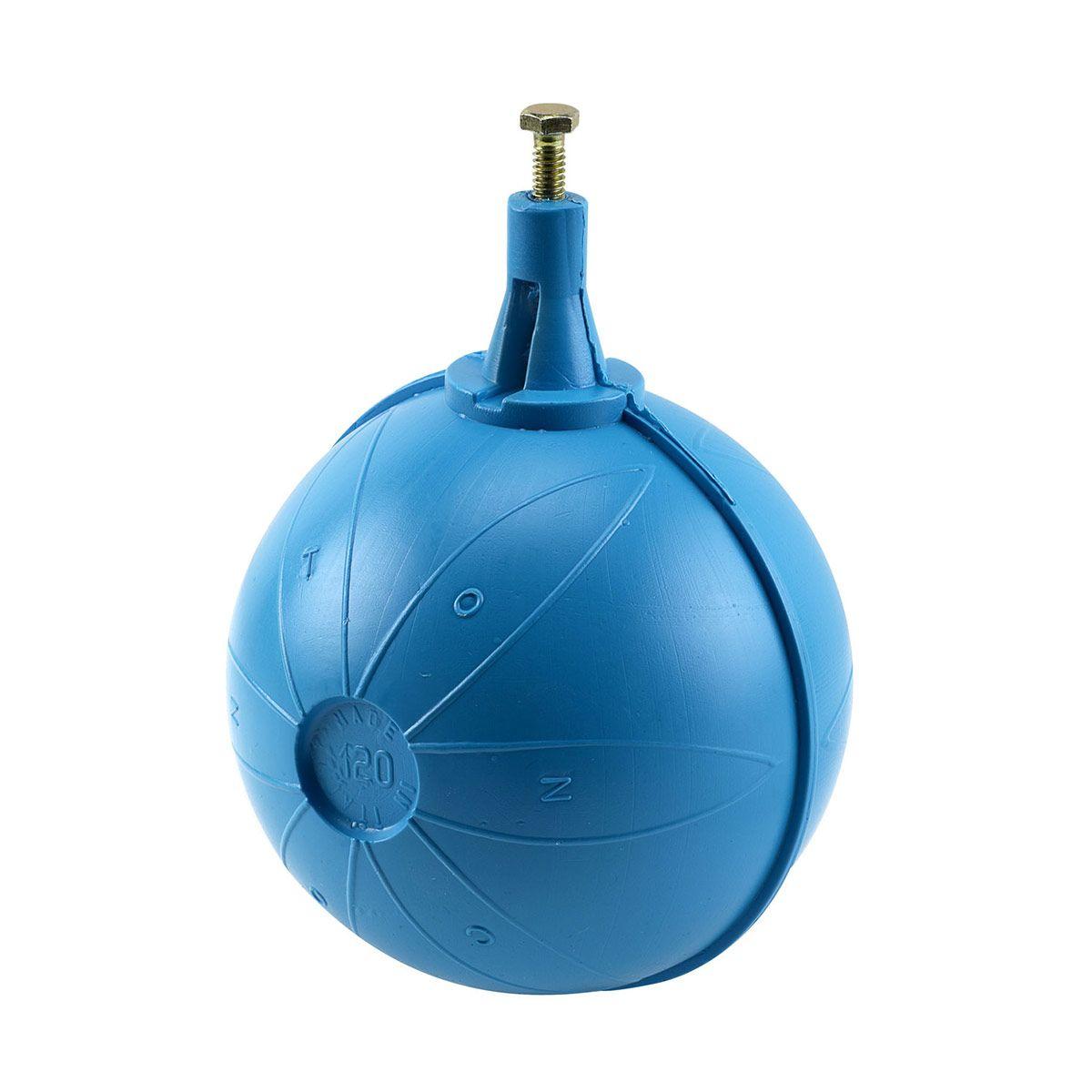 Schwimmerkugel, Blau, Kunststoff, D 150 mm