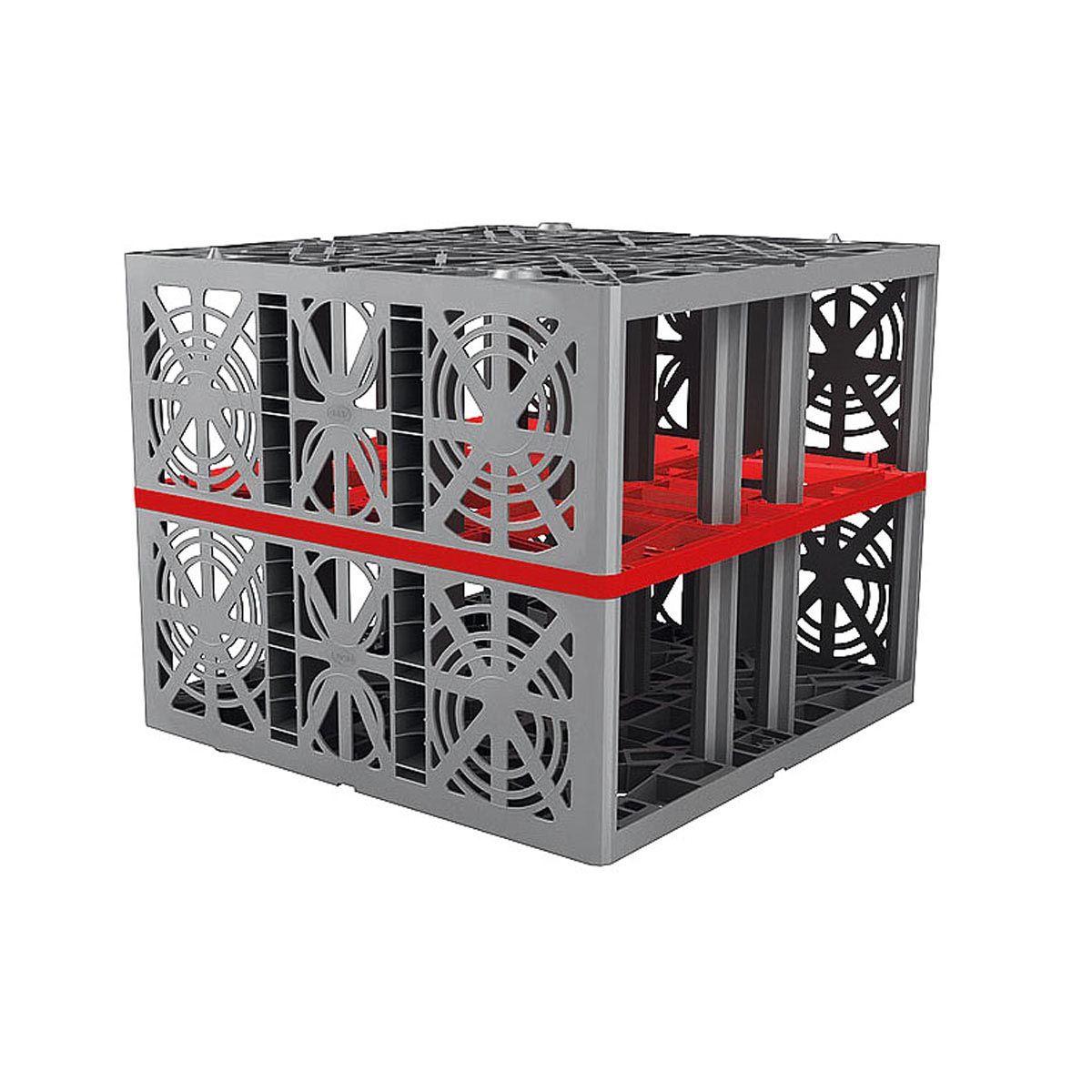 Rigolenmodul, EcoBloc Inspect 420, 800 x 800 x 660 mm
