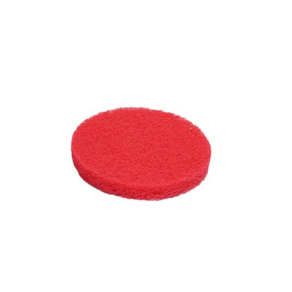 Reinigungspad, rot, mittelhart, D: 200 mm