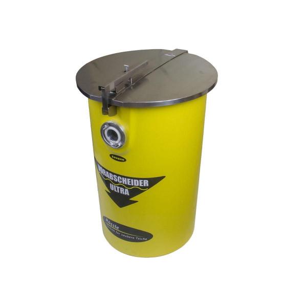 Vorabscheider Profi, GFK/Edelstahl, gelb, D 450-500 mm, H 700 mm