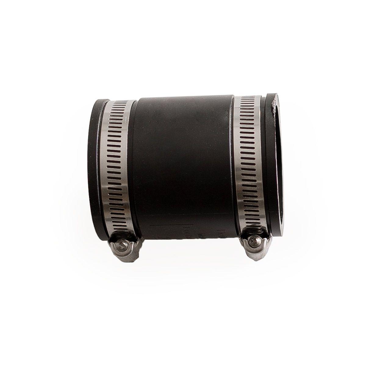 Flexible Muffe, aus PVC Elastomer, schwarz, 44 - 50 mm