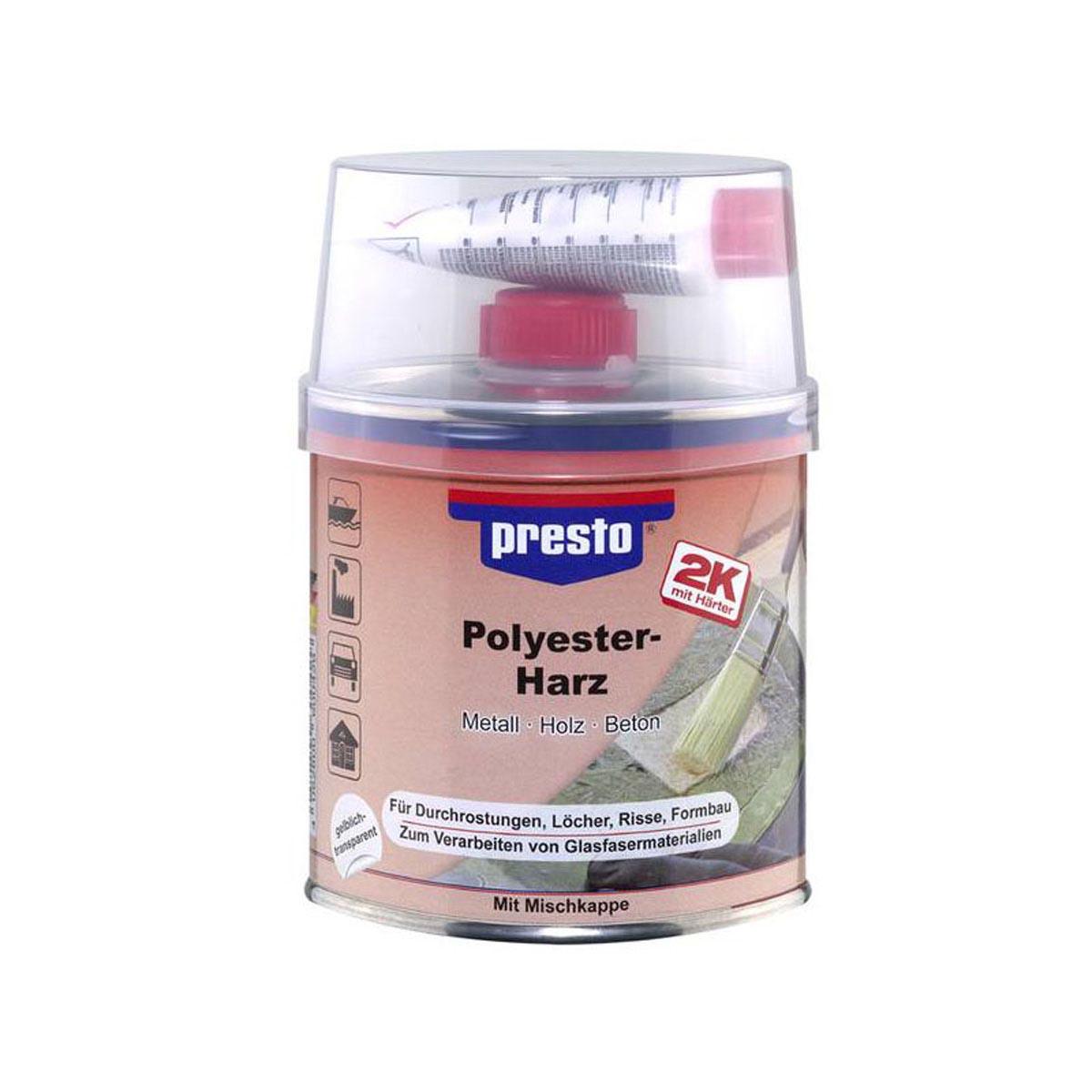 Polyesterharz, honigfarben, 5 kg