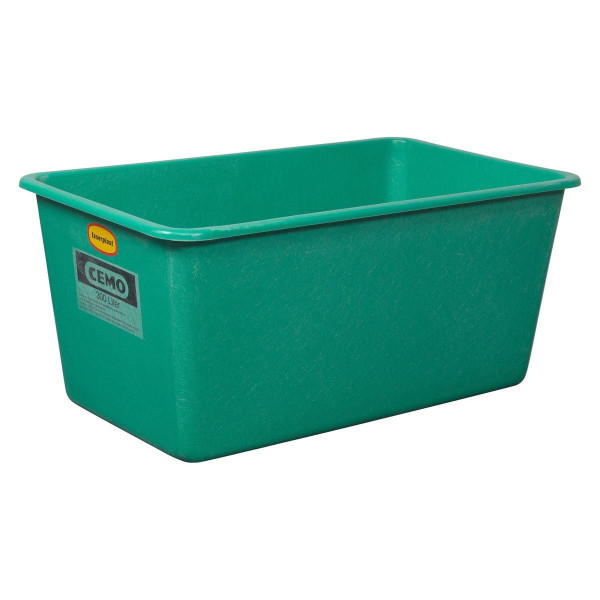 Stande, aus GFK, grün, 100 l, 880 x 580 x 290 mm