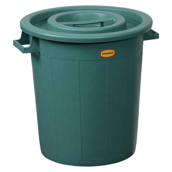 Abfallbehälter, mit Deckel, 50 l