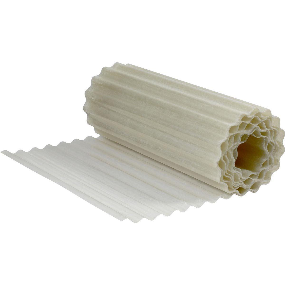 Wellplatte, aus PES, farblos, 20000 x 1000 x 1 mm