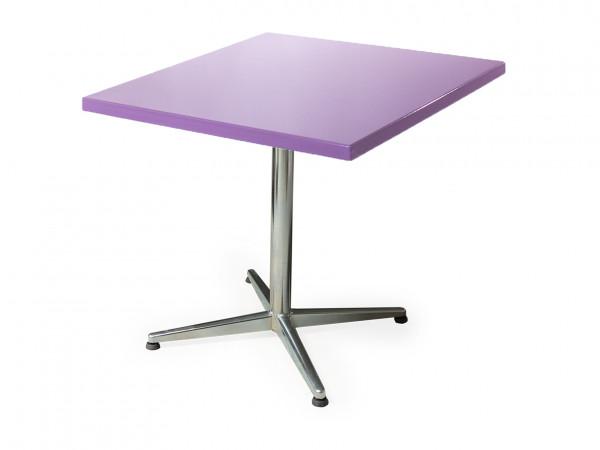 GFK Tisch pastellviolett 80x80