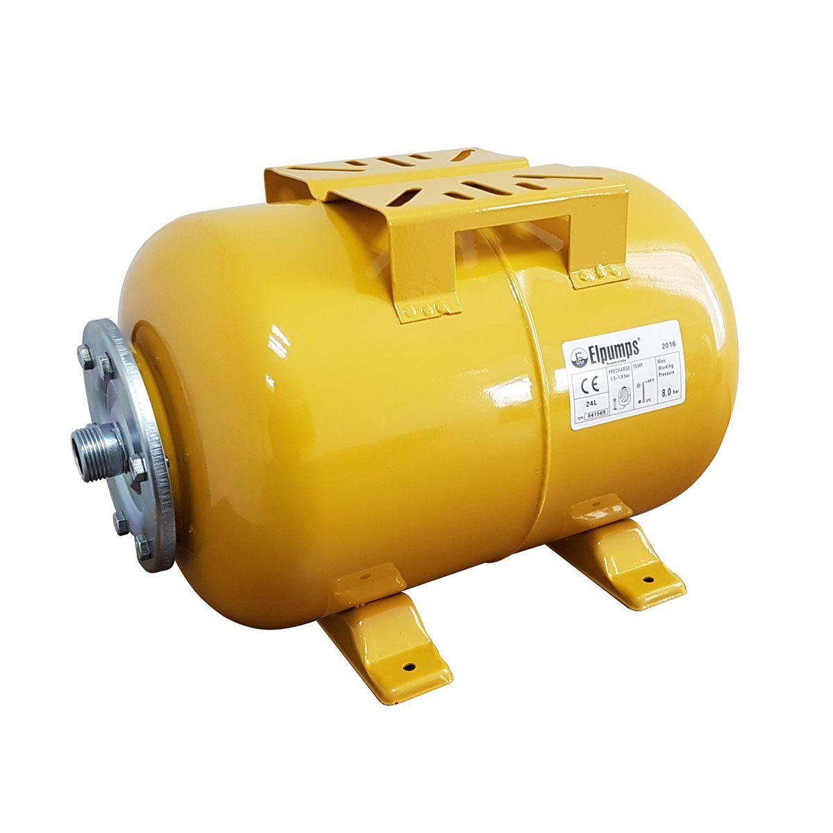 Expansionsgefäss, Stahlblech lackiert, gelb, 25 l, 1' AG