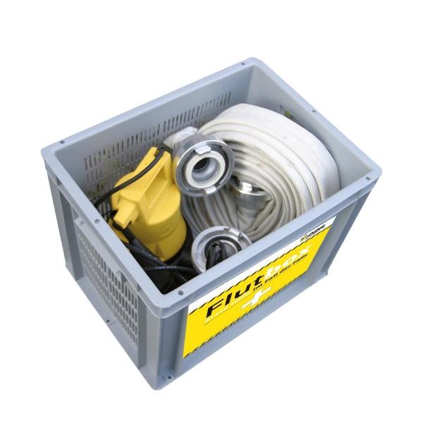 Erste-Hilfe-Set für Überschwemmungen Flutbox