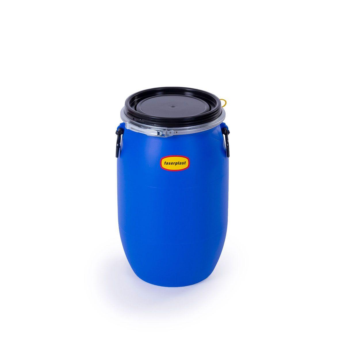 Obstfass 30, aus PE-HD, blau, rund, 30 l, 320 x 530 mm