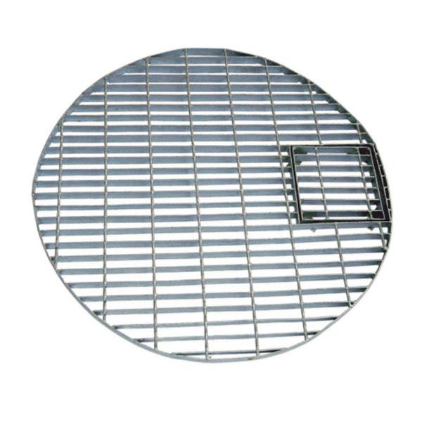 Metall-Abdeckrost, feuerverzinkt, rund, D 660 mm