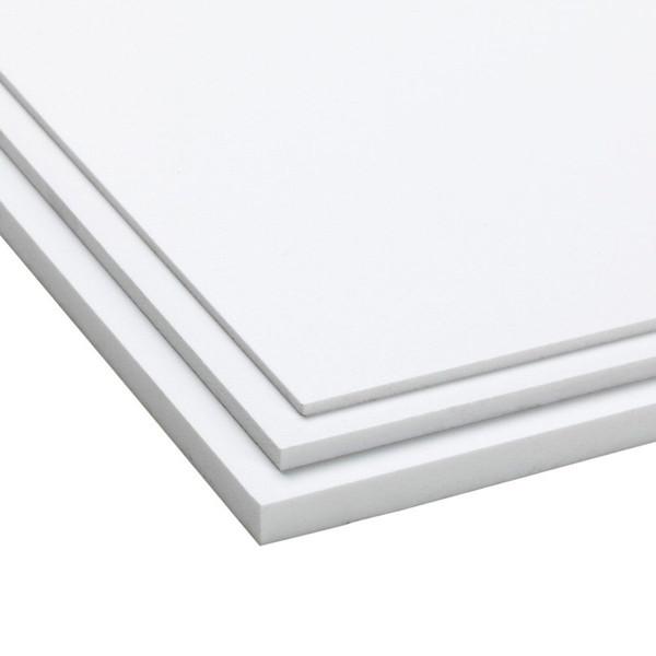 PVC Platte, aus PVC, geschäumt, weiss, 3050 x 2050 x 3 mm