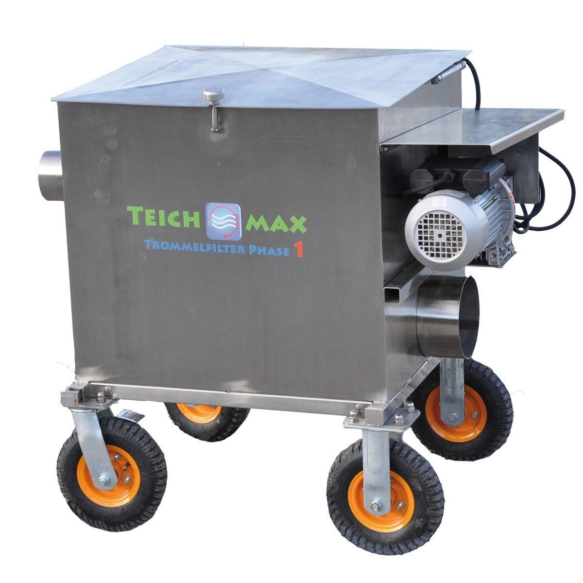 Wasserrückführung, TeichMAX Phase 1 Pro, 830 x 630 x 690 mm , 50 my, 200 W