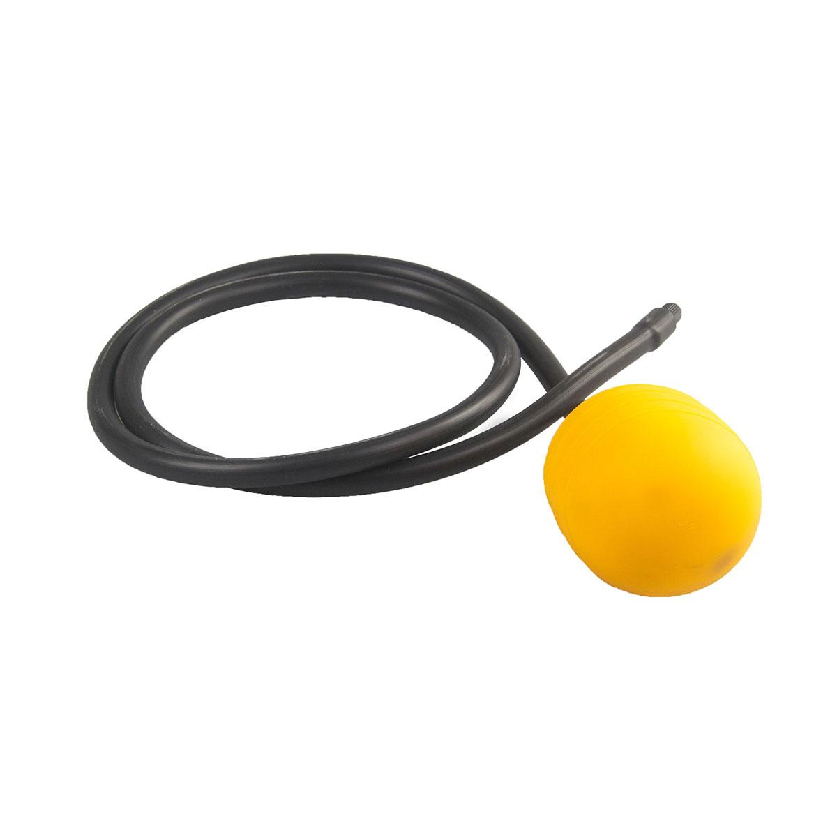 Rohrverschluss, gelb, 48 - 72 mm, L 1.5 m